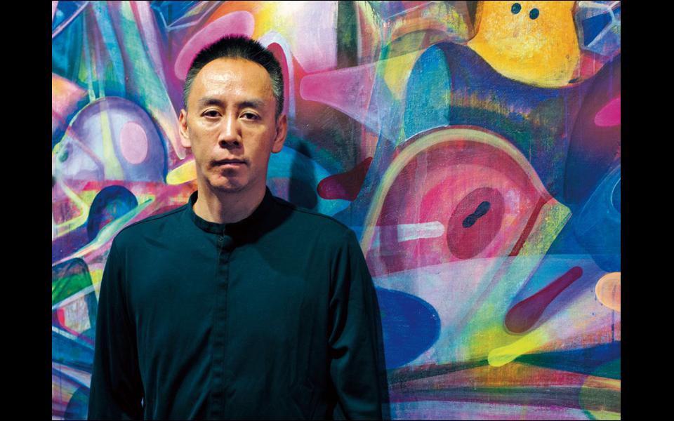 チベットに学んだ極彩色で身体と社会を描く、黃宇興に聞く。