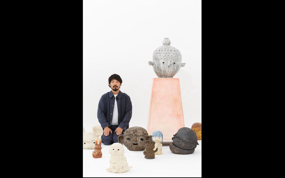 陶芸と彫刻と「工作」と。カイカイキキで大谷工作室が個展開催