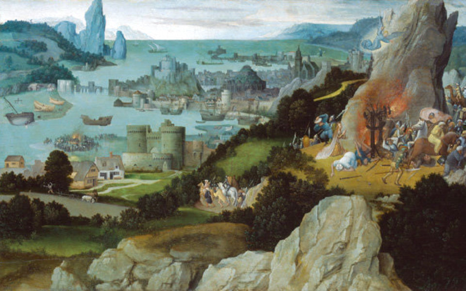 「最初の風景画家」 パティニールを知っていますか?