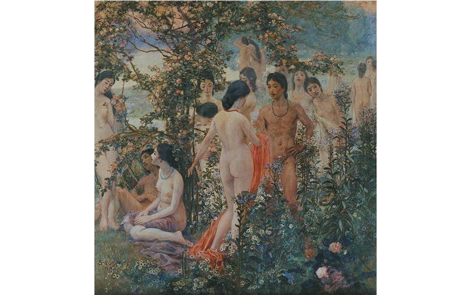 穏和な女性像を描く洋画家・五味清吉、生誕130年記念展が開催