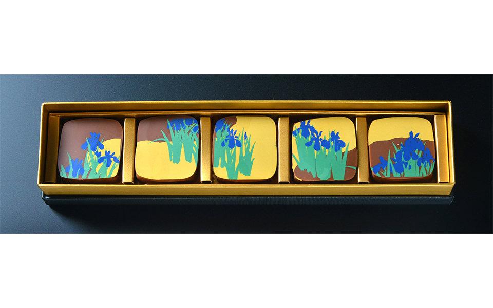 食べるのがもったいない?雪佳「燕子花図屏風」チョコレート発売