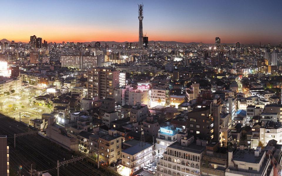 スカイツリーを育む東京下町の風景、佐藤信太郎『東京|天空樹』