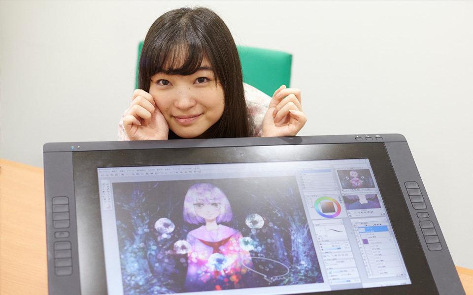 上田麗奈と藤ちょこ先生のデジタルペイント講座⑥ 仕上げ編
