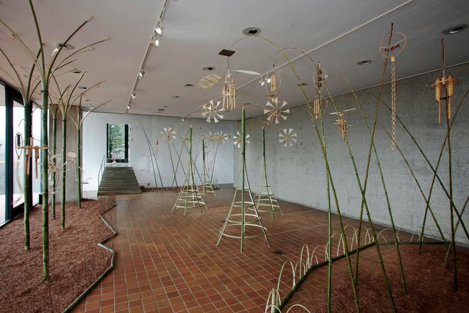 自然と竹楽器のハーモニー 箱根に現れた「オトノフウケイ」